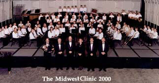 Robinson Middle School Symphonic Band at Midwest